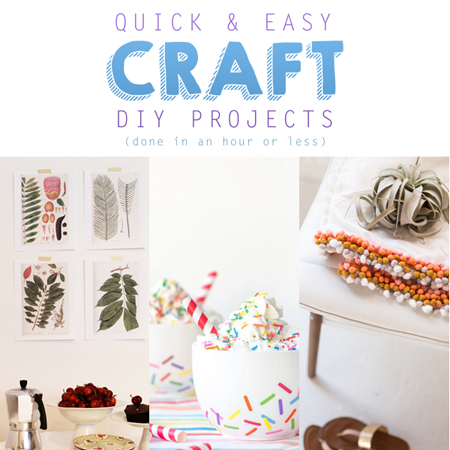 Quick easy home decor craft diy projects the cottage for Home decor for less