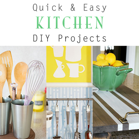 Quick And Easy Kitchen Diy Projects The Cottage Market
