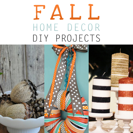 Fall Home Decor DIY Projects