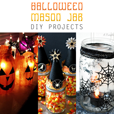 Halloween Mason Jar DIY Projects