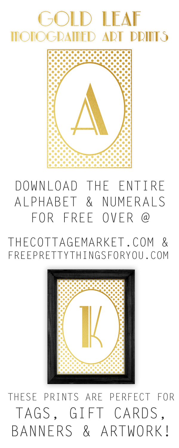 7 letter words ending in joe free printable gold leaf monogram prints 25224 | TCMFPTFY GoldLeafLetters TOWER 1