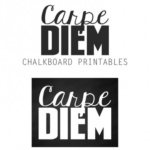 Free Carpe Diem Art Prints