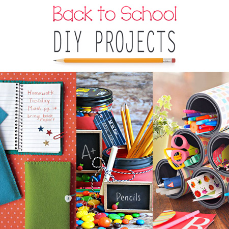 Back to school diy projects the cottage market for School diy ideas