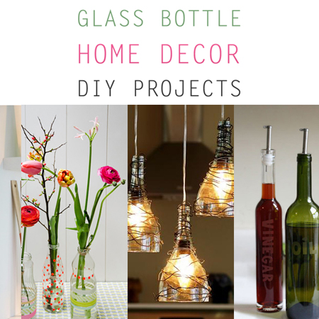 diy home decor with glass bottles glass bottle home decor diy projects the cottage market 13207