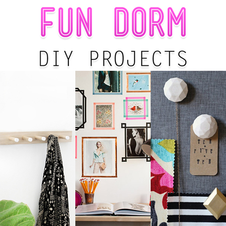 Fun Dorm DIY Projects
