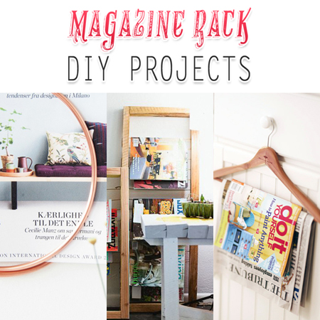 Magazine Rack DIY Projects