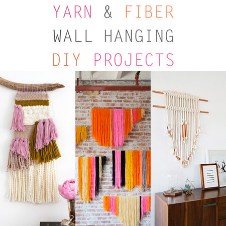Yarn And Fiber Wall Hanging Diy Projects The Cottage Market