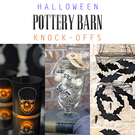 Halloween Pottery Barn Knock Offs The Cottage Market