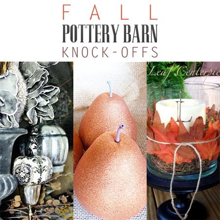 Fall Pottery Barn Knock Offs The Cottage Market