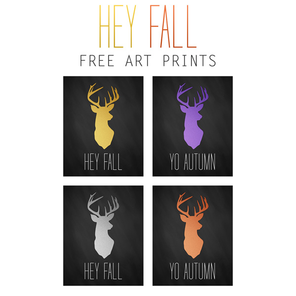 Free Printable Fall Wall Art
