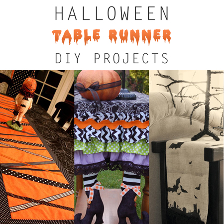 Halloween Table Runner DIY Projects
