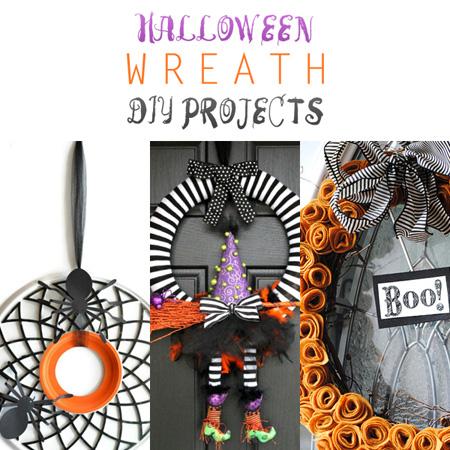 halloween wreath diy projects - Halloween Diy Projects