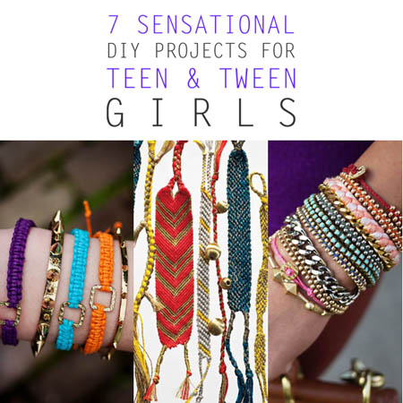 7 sensational diy projects for teen and tween girls the for Projects for tweens