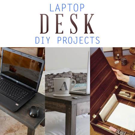 Laptop Desk Diy Projects The Cottage Market