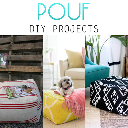 Pouf DIY Projects