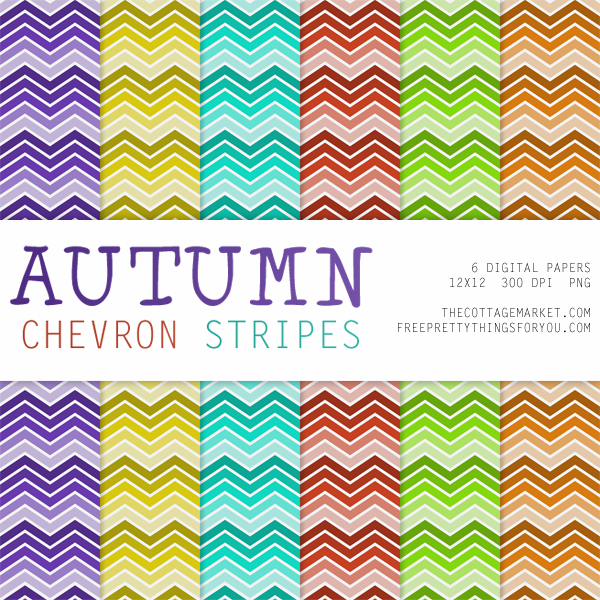FREE Autumn Digital Scrapbooking Paper Packs Part 1
