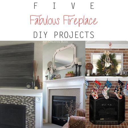 5 Fabulous Fireplace DIY Projects
