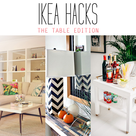 Ikea Hacks The Table Edition