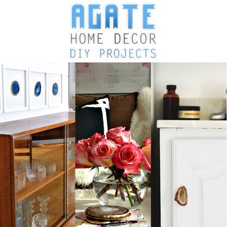 Agate Home Decor DIY Projects
