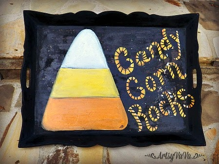 candy corn tray1A