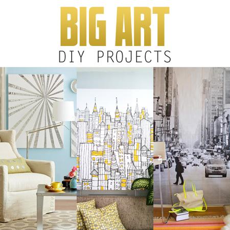 Big Wall Art DIY Projects