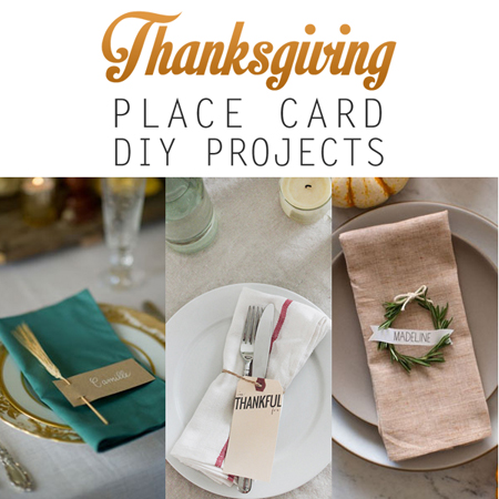 thanksgiving place card diy projects the cottage market