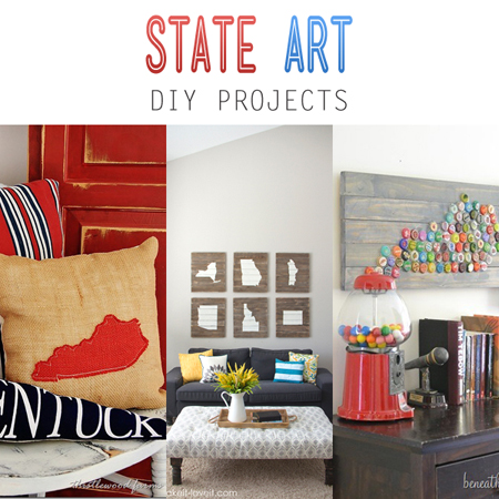 State Art DIY Projects