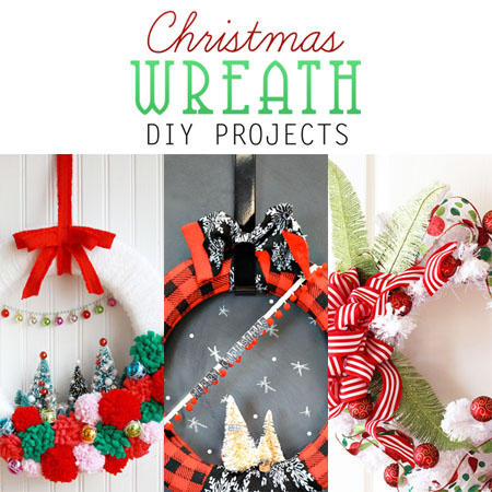 Christmas Wreath DIY Projects