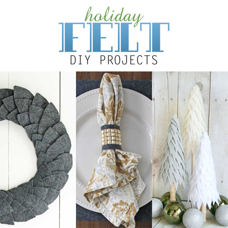 Quick And Easy Holiday Felt Diy Projects The Cottage Market