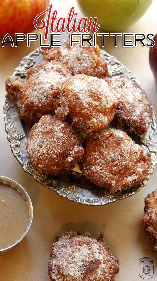 ItalianAppleFritters-Tower