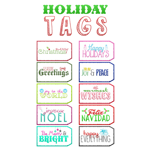 photograph relating to Printable Holiday Tags identify No cost Printable Trip Tags - The Cottage Industry