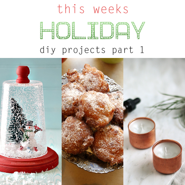 This Weeks Holiday DIY Projects Part 1