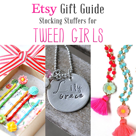 Etsy Gift Guide Stocking Stuffers For Tween Girls The