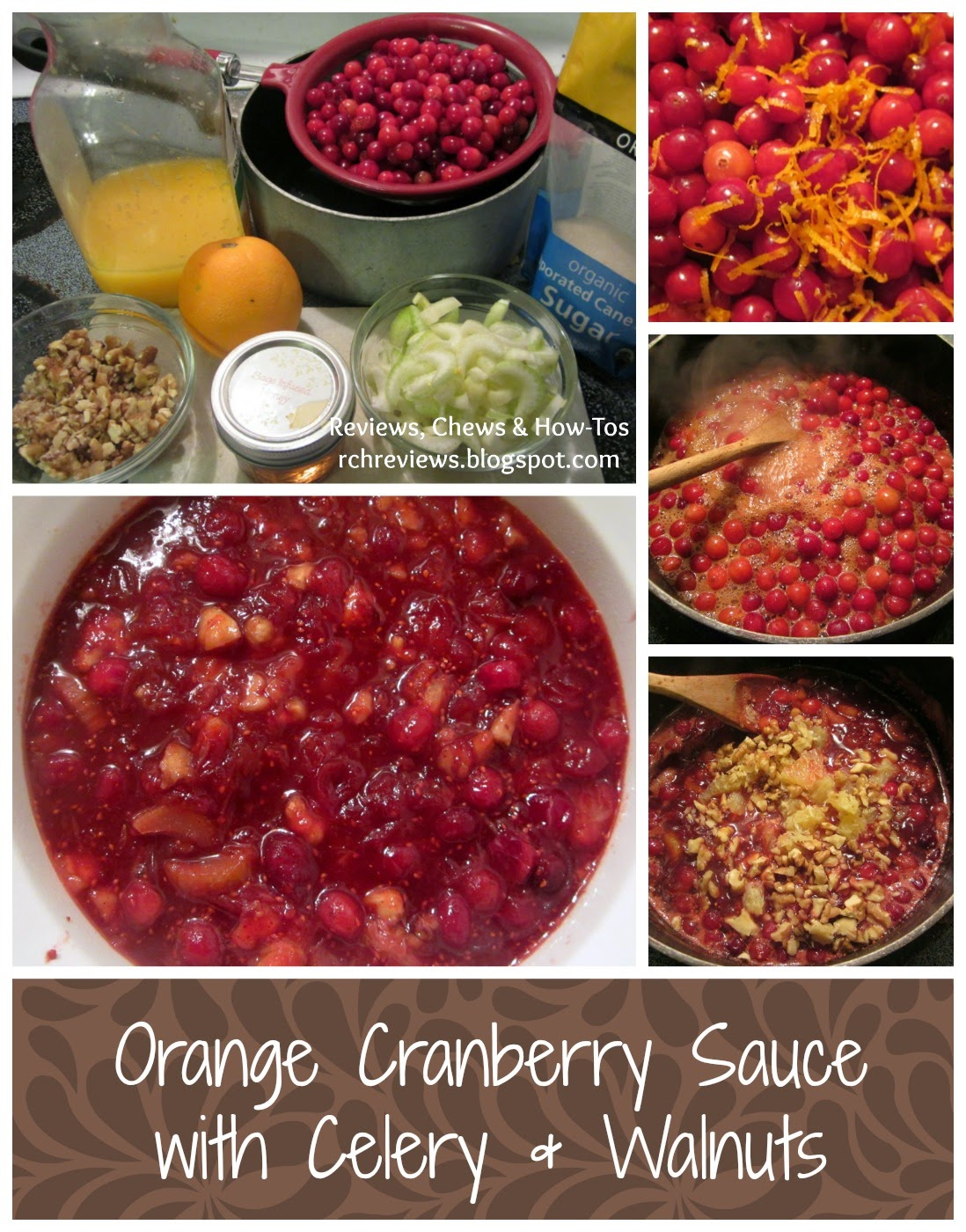 cranberry sauce process