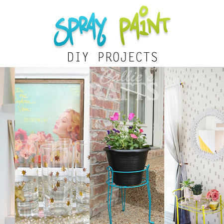 Spray Paint DIY Projects