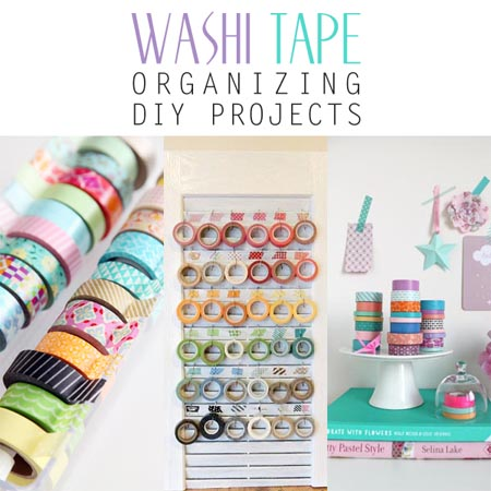 Washi Tape Organizing DIY Projects