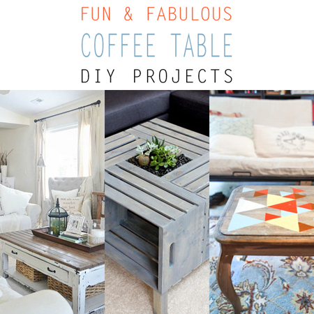 Fun and fabulous coffee table makeovers the cottage market Eclectic coffee table makeovers