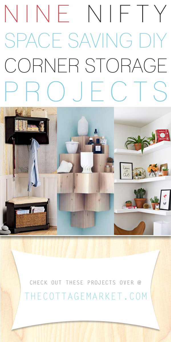 9 Nifty Space Saving DIY Corner Storage Projects - The ...