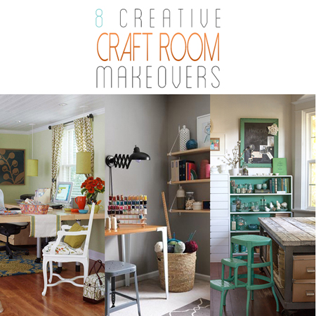 8 Creative Craft Room Makeovers