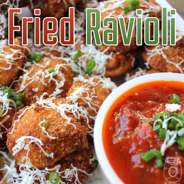 Fried Raviolis The Perfect Snack!