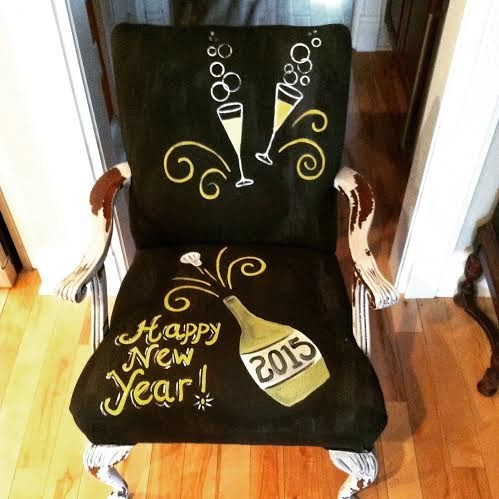 new years chair