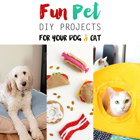 Fun Pet Diy Projects For Your Dog And Cat The Cottage Market
