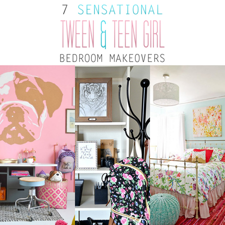 7 Sensational Tween & Teen Girl Bedroom Makeovers