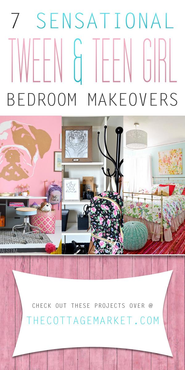 7 Sensational Tween & Teen Girl Bedroom Makeovers - The ...