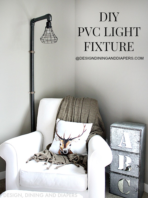 An eclectic collection of diy projects aka down the for Diy conduit light fixture