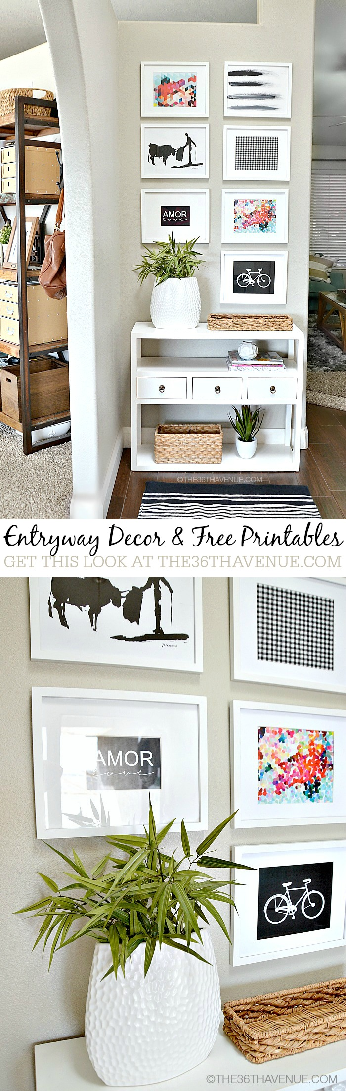Diy Foyer Decor : An eclectic collection of diy projects aka down the