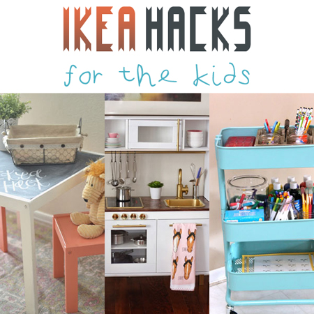 ikea hacks for the kids the cottage market. Black Bedroom Furniture Sets. Home Design Ideas