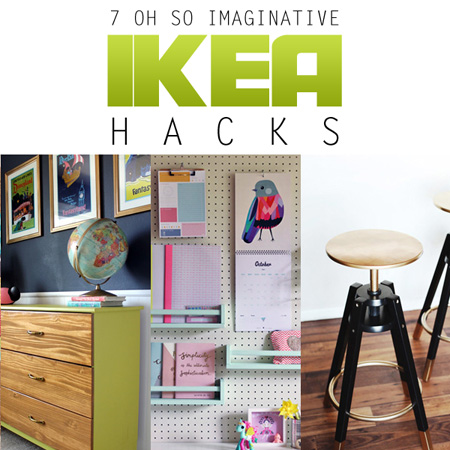 7 Oh So Imaginative IKEA HACKS {DIY Projects}