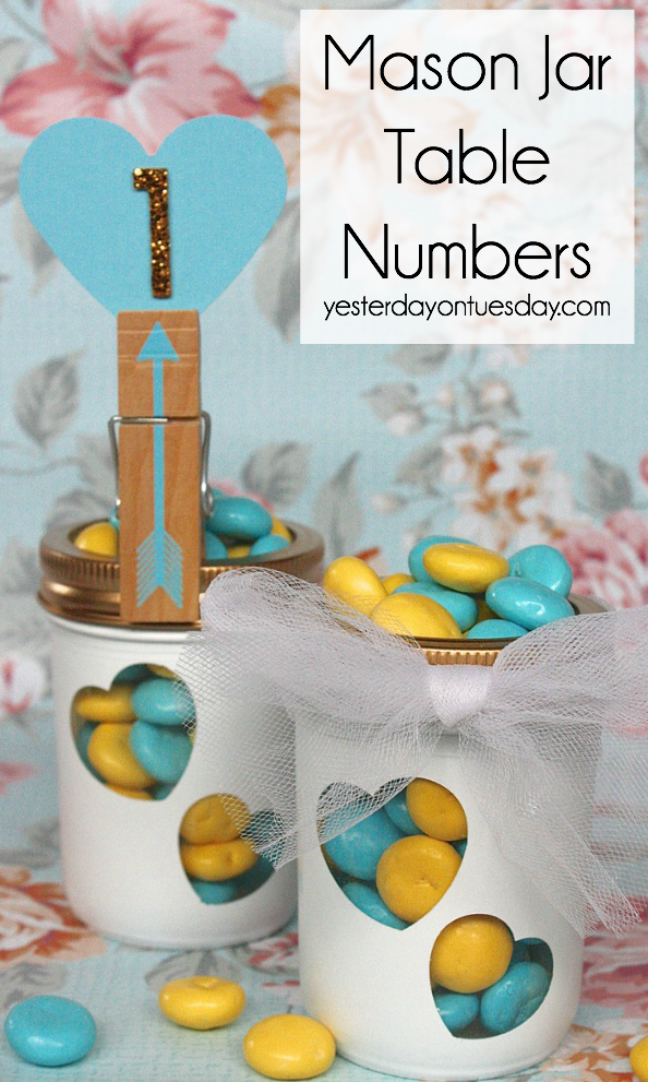 Mason-Jar-Wedding-Table-Numbers