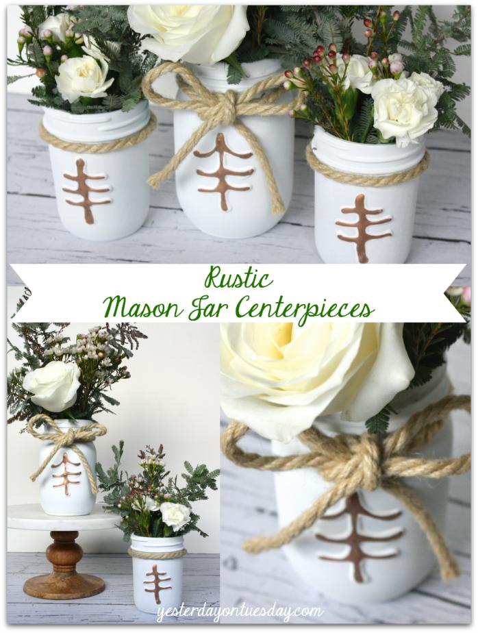 Rustic-Mason-Jar-Centerpieces-698x924